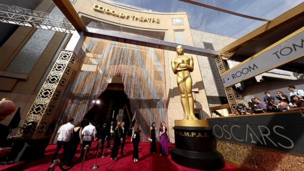 PHOTO: A view of the red carpet is seen at the 88th Annual Academy Awards at Hollywood & Highland Center, Feb. 28, 2016, in Hollywood, California.