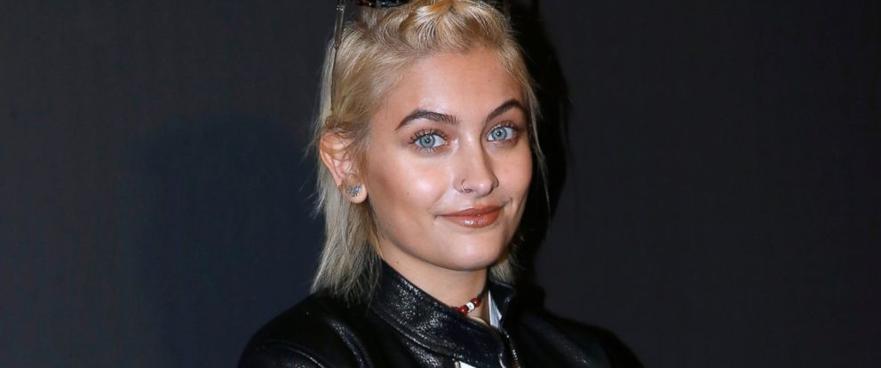PHOTO: Paris Jackson attends the Dior Homme Menswear Fall/Winter 2017-2018 show as part of Paris Fashion Week on Jan. 21, 2017.