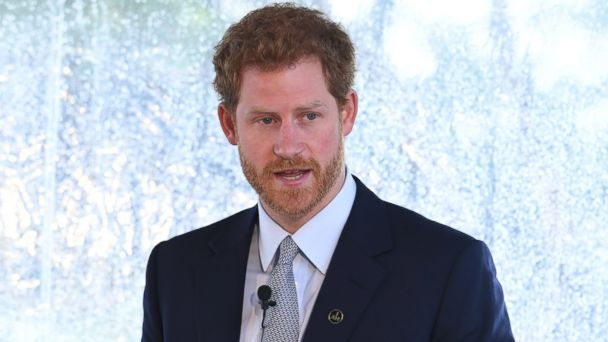 PHOTO: Prince Harry speaks to guests and the Australian Invictus Squad as he attends the Official Launch of Invictus Games Sydney 2018 at Admiralty House on June 7, 2017 in Sydney.