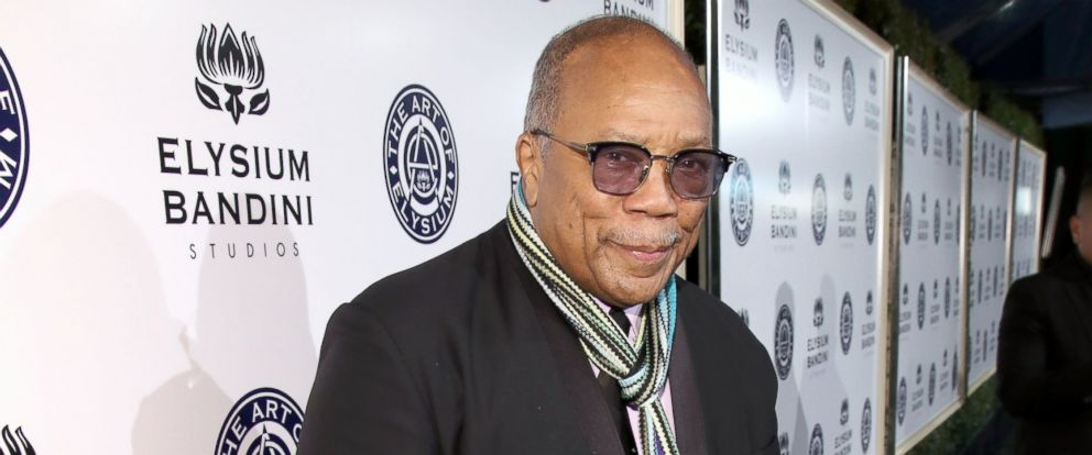 PHOTO: Quincy Jones attends The Art of Elysium presents Stevie Wonders HEAVEN - Celebrating the 10th Anniversary at Red Studios, Jan. 7, 2017, in Los Angeles.