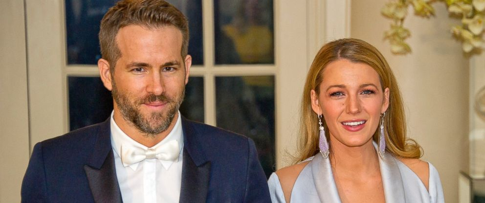 PHOTO: Ryan Reynolds and Blake Lively arrive for the State Dinner in honor of Prime Minister Trudeau and Mrs. Sophie Trudeau of Canada at the White House March 10, 2016 in Washington.