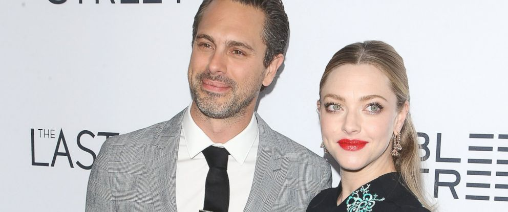 "PHOTO: Thomas Sadoski and Amanda Seyfried arrive at the Los Angeles premiere of ""The Last Word,"" March 1, 2017 in Hollywood, Calif."