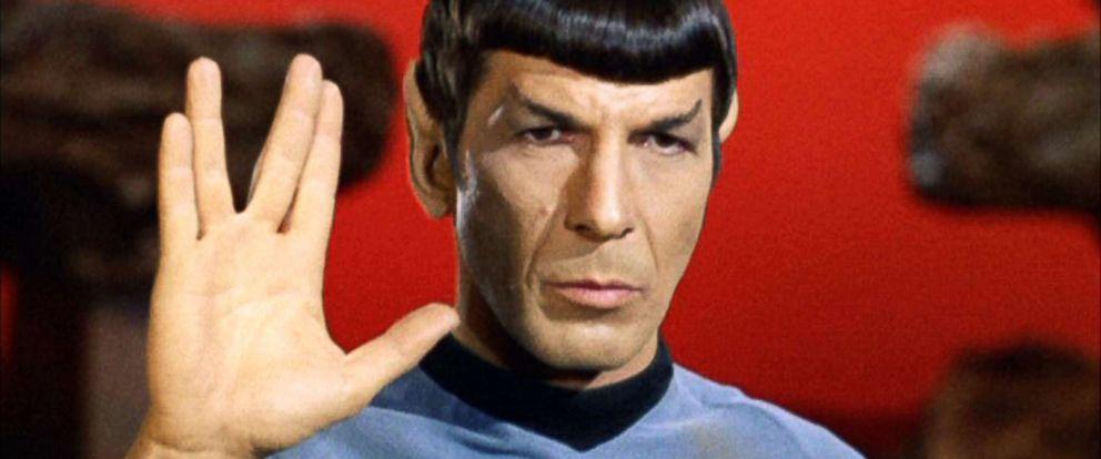 """PHOTO: Leonard Nimoy as Mr. Spock in """"Star Trek: The Original Series"""" in 1967."""