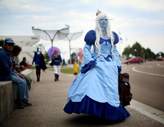 Comic-Con: Fans Show Off Their Costumes