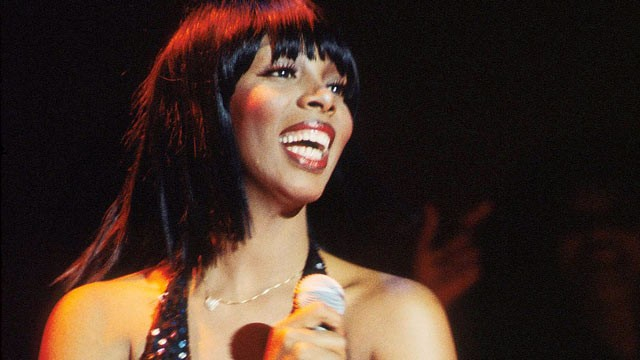 Donna summer performs on stage in washington in this 1978 file photo