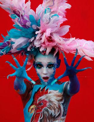 The 2012 International Body Painting Festival