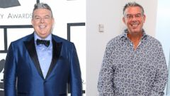 PHOTO: Elvis Duran lost 105 pounds.