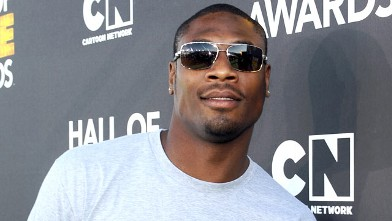 PHOTO: Professional football player Jacoby Jones attends the Third Annual Hall of Game Awards hosted by Cartoon Network at Barker Hangar, Feb. 9, 2013 in Santa Monica, California.