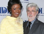 PHOTO: Mellody Hobson and Director George Lucas attend the Anti-Defamation League Centennial Entertainment Industry Awards Dinner, May 8, 2013 in Beverly Hills.