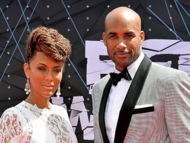 PHOTO: Nicole Ari Parker and Boris Kodjoe attend the 2015 BET Awards, June 28, 2015 in Los Angeles.