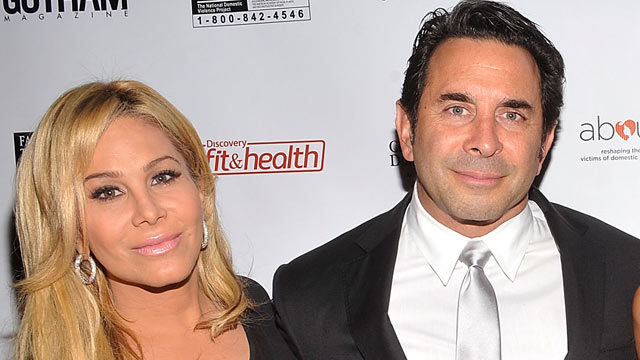 PHOTO: Adrienne Maloof and Dr. Paul Nassif attend a benefit at Trump SoHo, Oct. 20, 2011, in New York City.