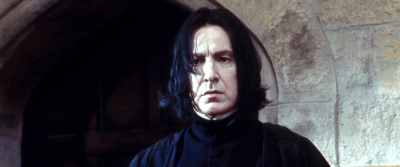 "PHOTO: Alan Rickman is seen as Professor Snape in an image from ""Harry Potter and the Philosophers Stone,"" 2001."