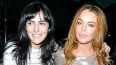 Lindsay Lohan Steps Out With Her Sister Ali