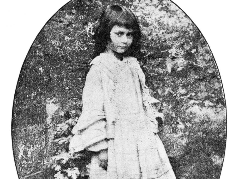 PHOTO: Reverend Charles Dodgson took this photo of Alice Liddell who inspired the story that came to be known as Alice in Wonderland in 1858.