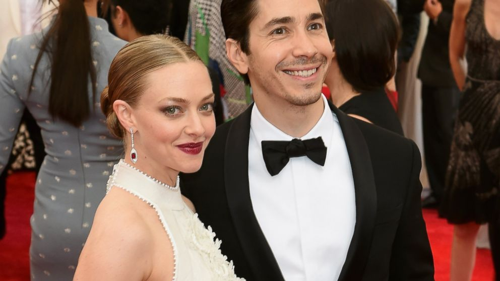 Amanda with her ex-boyfriend Justin Long