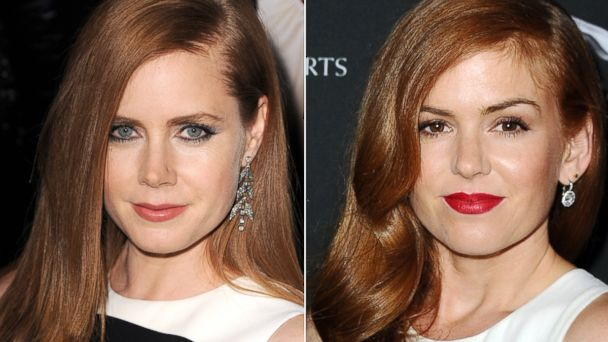 gty amy adams isla fisher 1 ll 131211 16x9 608 Amy Adams and Isla Fisher Separated at Birth? Side by Side Comparison
