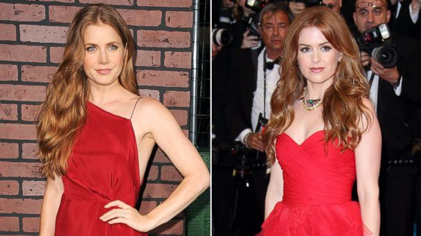 gty amy adams isla fisher 3 ll 131211 16x9 608 Amy Adams and Isla Fisher Separated at Birth? Side by Side Comparison