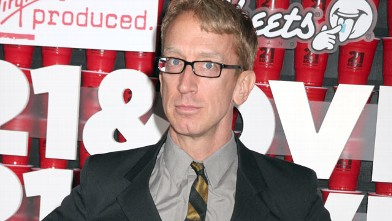 PHOTO: Andy Dick arrives at &quot;21 & Over&quot; at Westwood Village, Feb. 21, 2013 in Los Angeles.