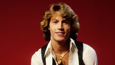 PHOTO: Posed studio portrait of Andy Gibb.