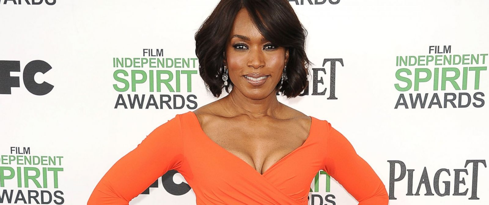PHOTO: Actress Angela Bassett attends the 2014 Film Independent Spirit Awards, March 1, 2014 in Santa Monica, California.