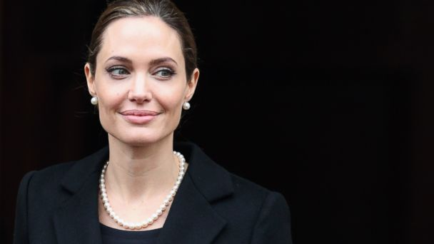 PHOTO: Actress Angelina Jolie leaves Lancaster House after attending the G8 Foreign Minsters conference on April 11, 2013 in London, England.
