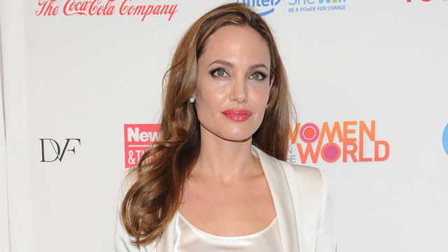 PHOTO: Angelina Jolie attends the 3rd Annual Women in the World Summit at David H. Koch Theater, Lincoln Center on March 8, 2012 in New York City.