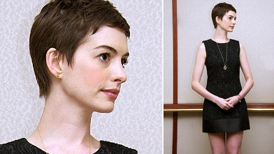 "PHOTO: Anne Hathaway attends ""The Dark Knight Rises"" press conference at The Beverly Hilton Hotel, July 8, 2012 in Beverly Hills, Calif."