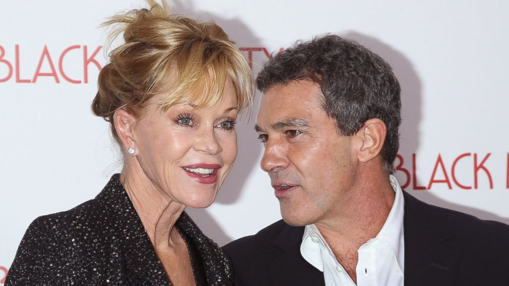 "PHOTO: Melanie Griffith and Antonio Banderas attend the ""Black Nativity&q"