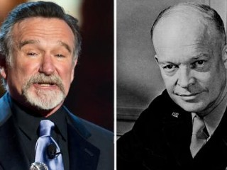 Photos: Robin Williams as Dwight Eisenhower?