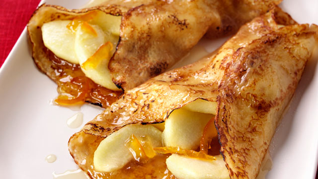 PHOTO: Apple pancakes are shown in this file photo.