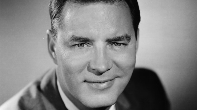 PHOTO: Art Fleming, Host of the television game show 'Jeopardy', circa 1965.