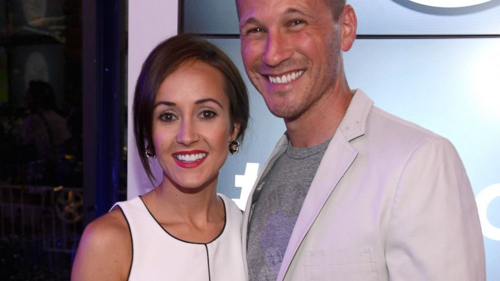 """PHOTO: J.P. Rosenbaum and Ashley Hebert are seen at the """"Dig In and Do Good"""" event in New York City on July 11, 2013."""