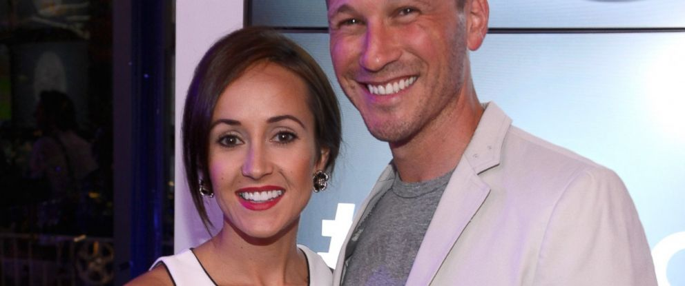 "PHOTO: J.P. Rosenbaum and Ashley Hebert are seen at the ""Dig In and Do Good"" event in New York City on July 11, 2013."