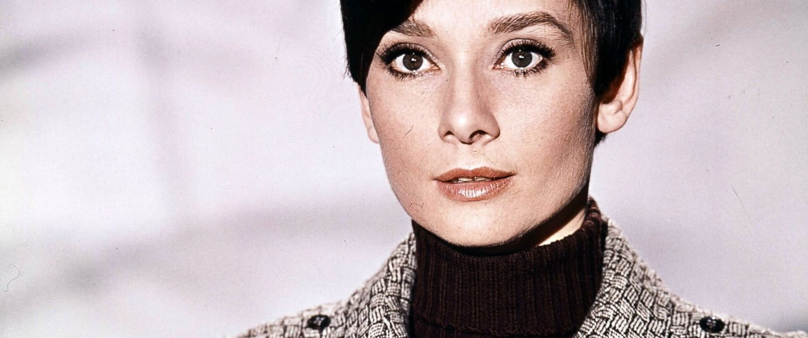 PHOTO: Audrey Hepburn in publicity portrait for the film Wait Until Dark, 1967.