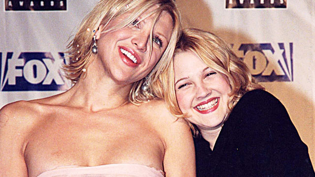 PHOTO: Courtney Love and Drew Barrymore during 1999 Blockbuster Awards in Los Angeles.