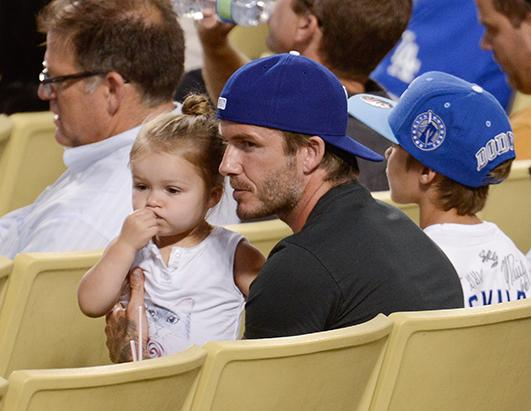 PHOTOS: Harper Beckham Gets Messy