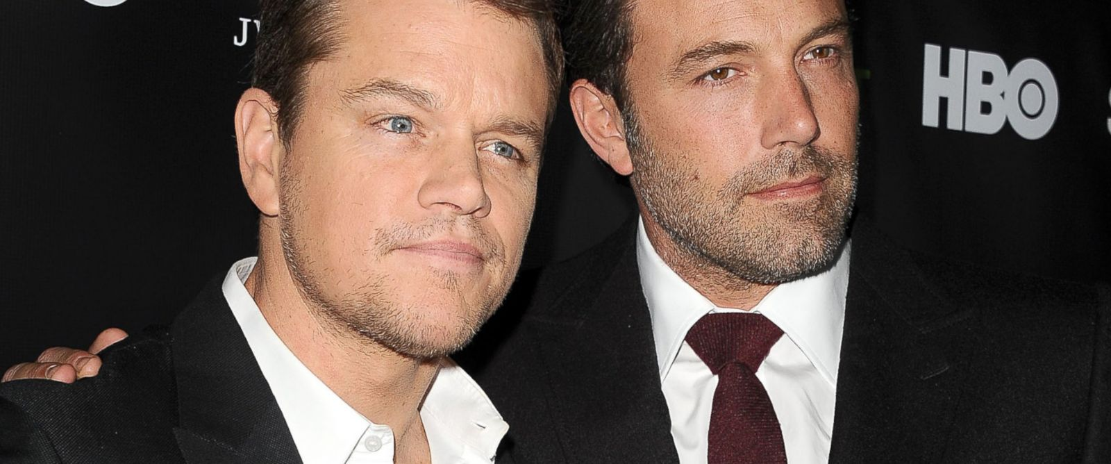 """PHOTO: Matt Damon and Ben Affleck attend a """"Project Greenlight"""" event on Nov. 7, 2014 in Hollywood, Calif."""