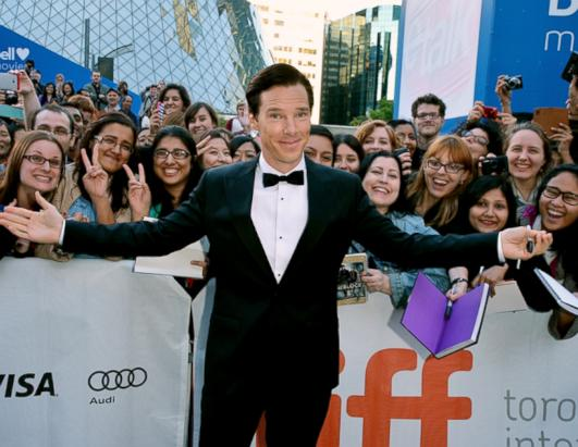 Benedict Cumberbatch at the IFF