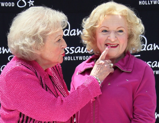 Betty White, Slash Team Up