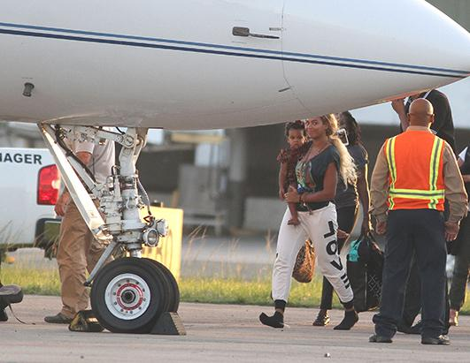 Beyonce Takes Blue Ivy to Puerto Rico