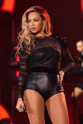 Beyonce Performs in London