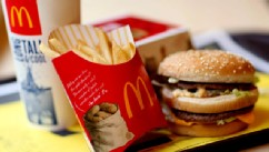 PHOTO: A McDonald's Big Mac value meal a arranged in New York on July 23, 2010.