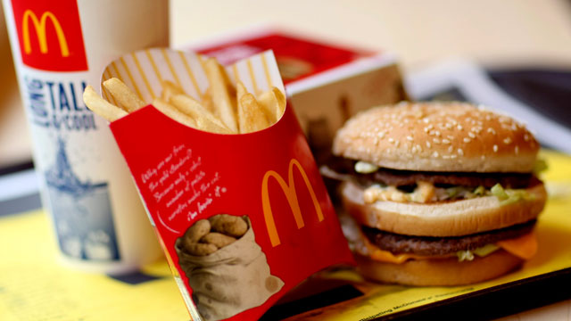 PHOTO: A McDonalds Big Mac value meal a arranged in New York on July 23, 2010.