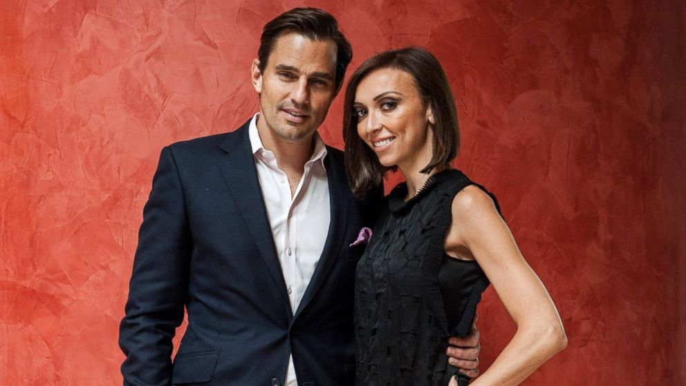 PHOTO: Bill and Giuliana Rancic pose for a portrait at the 2013 Columbus Day luncheon, Oct. 14, 2013, in Washington.
