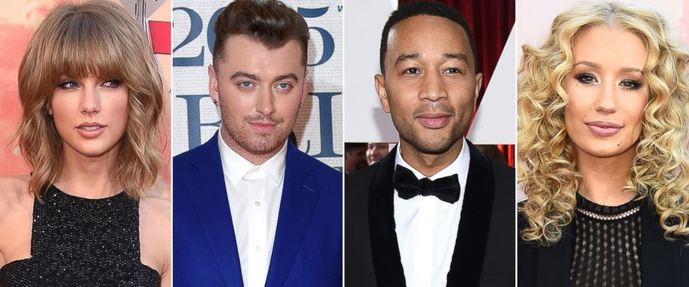 PHOTO: Musics biggest stars are among the nominees for the 2015 Billboard Music Awards.