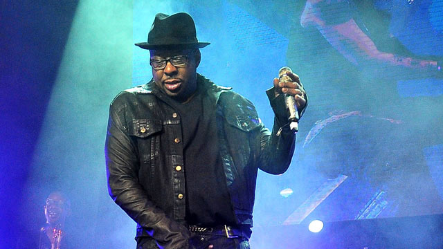 PHOTO: Bobby Brown and will.i.am perform at will.i.am's Annual TRANS4M Concert Benefitting I.Am.Angel Foundation, Feb. 7, 2013 in Hollywood.