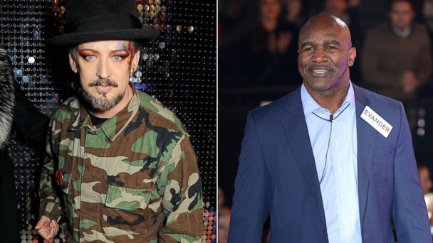 gty boy george evander holyfield kb 140106 16x9 608 Boy George Confronts Evander Holyfield for Homophobic Comments