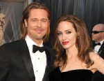 PHOTO: Brad Pitt and Angelina Jolie arrives at the 84th Annual Academy Awards at Graumans Chinese Theatre, Feb. 26, 2012 in Hollywood, Calif.
