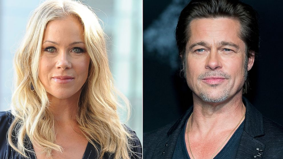christina applegate talks ditching brad pitt during date