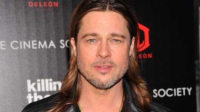 "PHOTO: Brad Pitt attends a screening of The Weinstein Company's ""Killing Them Softly"", Nov. 26, 2012 in New York City."